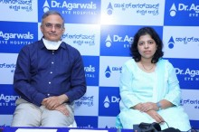 L-R Dr. Ram Mirlay & Dr Archana