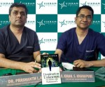 L-R : Dr. Prashanth LK, Consultant Neurologist and Parkinson's Disease & Movement Disorder Specialist, Vikram Hospital, Bengaluru  & Dr. Kiran S Khanapure, Consultant Functional Neurosurgeon, Vikram Hospital
