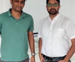 Lto R- Ravi Pathak, Co-Founder & CEO, Tatvic Analytics and Tejas Modi, Co-Foudner, Tatvic Analytics
