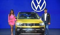 Ashish Gupta, Brand Director, Volkswagen Passenger Cars India and Kriti Kharbanda