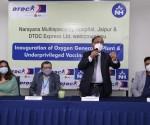 Subhasish Chakraborty, CMD, DTDC Express Ltd. addressing the media