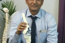 Dr. Om Prakash Gupta, Senior Consultant, IPSC India, who is a well-known orthopedic, joint replacement and spine surgeon